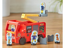 Calling all Fireman Sam fans to the Character Options' toy station!