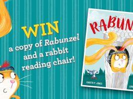 Win a Copy of Rabunzel & a Rabbit Reading Chair!