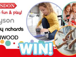 Win a bundle of role-play toys from Casdon!