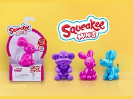 Meet the Squeakee Minis!