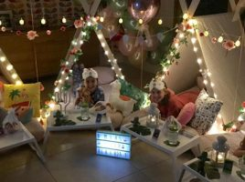 Throw your own Teepee Party at Home