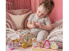 Our influencers step into the world of Disney Princess Wooden Toys!