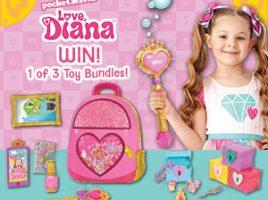 Win 1 of 2 Love, Diana toy bundles!