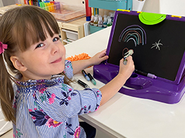 Painting needn't be messy – check out the Little Brian Paint Sticks range!