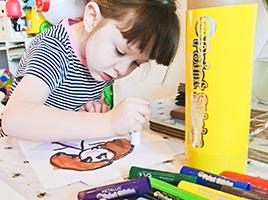 Early developmental benefits of using Little Brian Paint Sticks