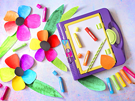 Why do parents love Little Brian Paint Sticks?