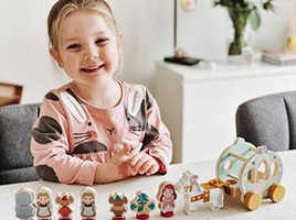 Why do mums love the Wooden World of Disney Princess?
