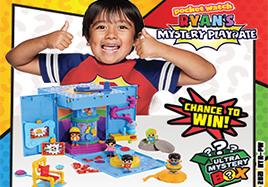 Win a Ryan's World Toy Bundle Worth £75!