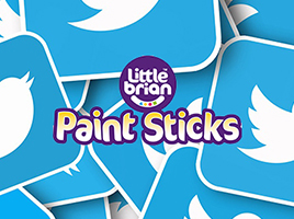 Join the Little Brian Paint Sticks Twitter frenzy!