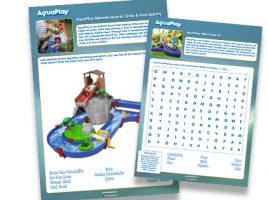 Free activity worksheets from AquaPlay!