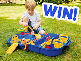 Win 1 of 3 AquaPlay LockBox Playsets, each worth £40!