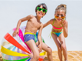 Let kids make a splash with their swimwear this summer!