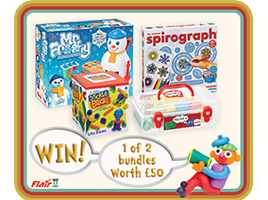Win 1 of 2 creative play toy bundles from Flair