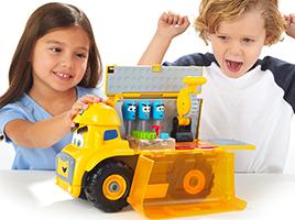 Introducing the Cat® Junior Crew™ Vehicles