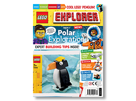 Check out the latest issue of LEGO Explorer magazine