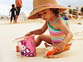 Beach essentials for your little ones