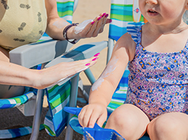 Our favourite sun creams for kids