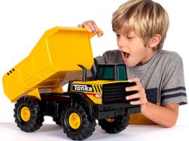 Win a Tonka Steel Classics Mighty Dump Truck!
