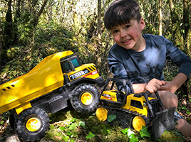 Are your little ones Tonka tough? Here's a chance to win a Tonka prize!