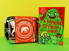 Win A Monster Ate My Packed Lunch and a Lunchbox