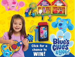 Win a Blue's Clues & You! Toy Bundle worth OVER £100!