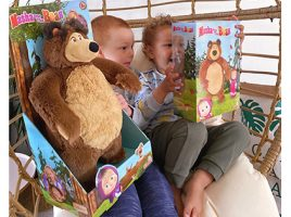 What do our Mums Think of the Masha and the Bear Toy Collection?