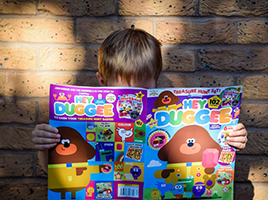 Real families share their love for Fun To Learn Hey Duggee Magazine