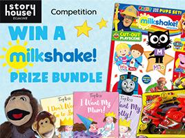 Win 1 of 5 amazing Milkshake! prize bundles, courtesy of Egmont and Milkshake!