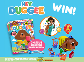 Win a Hey Duggee Magazine and Toy Bundle!