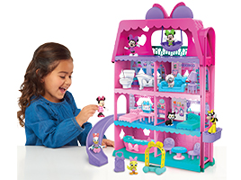 Chance to win 1 of 2 Disney Minnie Mouse Bow-Tel Hotel Playsets, each worth £59.99!