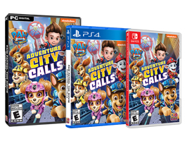 Win 1 of 4 copies of PAW Patrol The Movie: Adventure City Calls