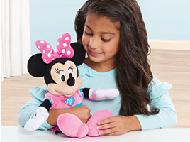 Discover the adorable Disney Minnie Mouse toy collection from Flair
