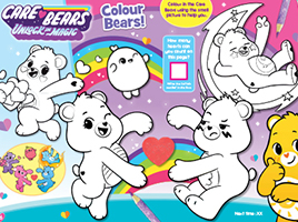 Download FREE Care Bears activity sheets