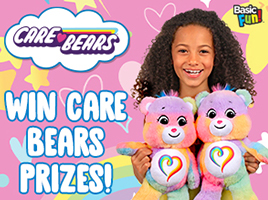 Win a Togetherness Bear plush toy!