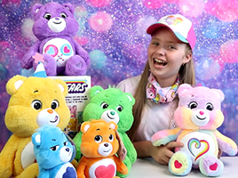 An introduction to the Care Bears… take it away kids!