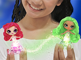 Win 1 of 4 Crystalina fairy doll bundles!